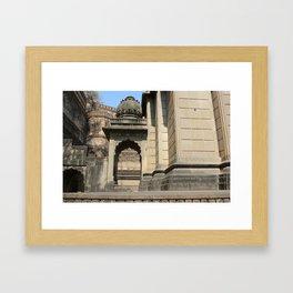 Palace in Maheshwar Framed Art Print