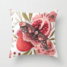 Moth Wings II Throw Pillow