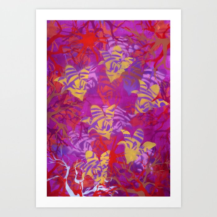 WIld nature Art Print