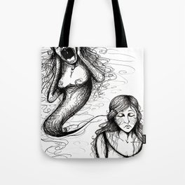 That whole anxiety and shit Tote Bag
