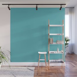 Light Teal Wall Mural