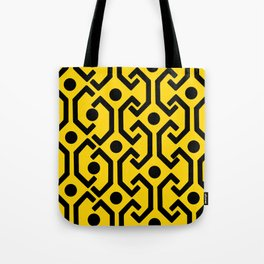 Ethnic Pattern (Yellow) Tote Bag