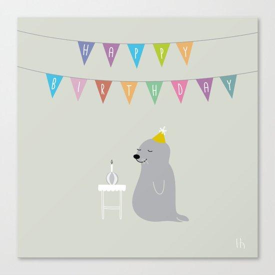 The Happy Birthday Canvas Print