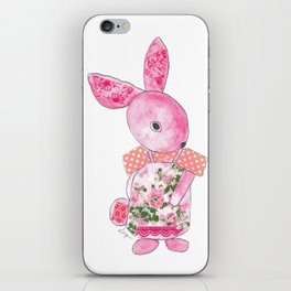 Girls Bunny  iPhone Skin