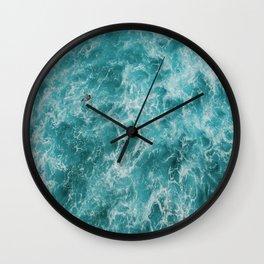 Ocean swim Wall Clock