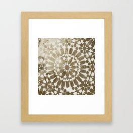 Moroccan Gold I Framed Art Print