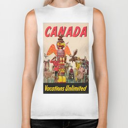 Vintage poster - Canada Biker Tank