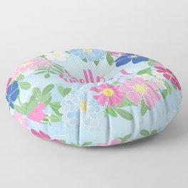 Hello Beautiful Floor Pillow