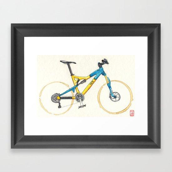 Coffee Wheels #13 Framed Art Print