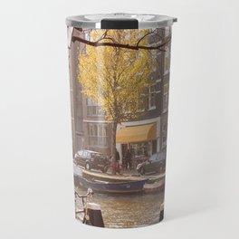 AMSTERDAM / Autumn Light by the Prinsengracht Travel Mug