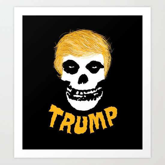 Trumpzig Art Print