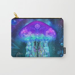 Luminescent Jellyfish Carry-All Pouch