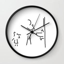 Dental cleaning bath Dental care Wall Clock