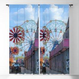 Wonder Wheel Blackout Curtain