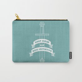 Keep calm and roll initiative Carry-All Pouch