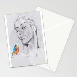 Enjoy The Silence Stationery Cards