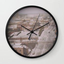 OKLAHOMA ICE Wall Clock