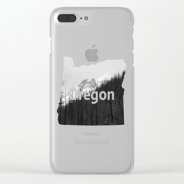 Trees Die Clear iPhone Case