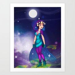 1000 Stars Art Print