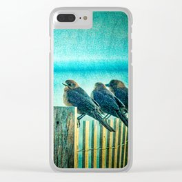 Morning Watch Clear iPhone Case