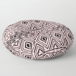 African Mud Cloth // Pink Floor Pillow