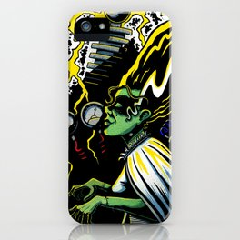 Bride of Frankenstein iPhone Case