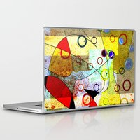 kandinsky Laptop & iPad Skins featuring Without incident by Kay Weber