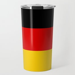 German flag - High Quality version both in scale and color Travel Mug
