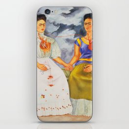 Two fridas art iPhone Skin