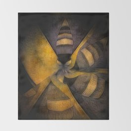 escape the hive Throw Blanket