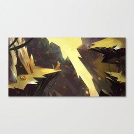 Renards Canvas Print