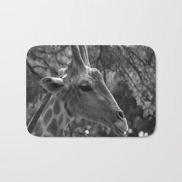 Giraffe Portrait Bath Mat