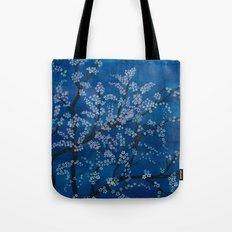 Spring Night Blues II Tote Bag