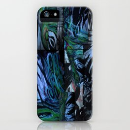 The Abstraction of Utopia and Oblivion  iPhone Case