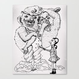 Box-O-Trolls Canvas Print