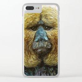 Animaline - Saki monkey Clear iPhone Case
