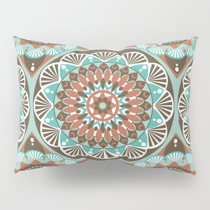 Toned Variety Pattern Pillow Sham