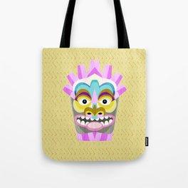 Aloha Tiki Mask Tote Bag