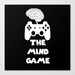 The Mind Game Canvas Print