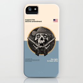Support The Second Amendment iPhone Case