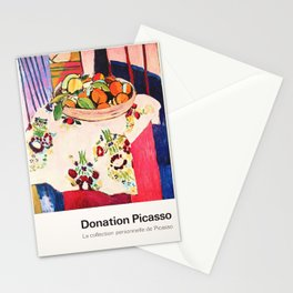 Donation Picasso Exhibition poster - Musée du Louvre Stationery Cards