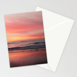 Blushing Sky Stationery Cards