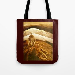 The Bleeding of the Land Tote Bag