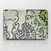 ellie goulding iPad Cases featuring Ellie by Stephanie Darling