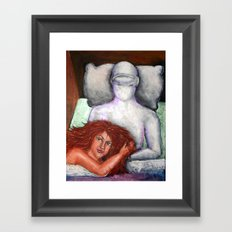 the Day the Earth moved Framed Art Print
