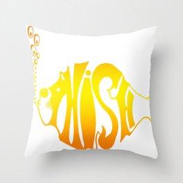 PHISH WORLD TOUR DATES 2019 KURA KURA Throw Pillow