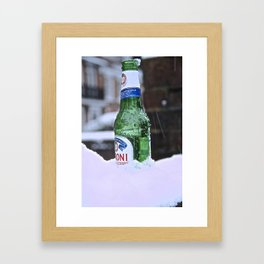 Chilled Peroni Framed Art Print