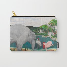 BORN ON THE WETLANDS Carry-All Pouch
