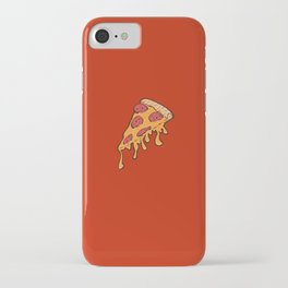 Cheesy Pepperoni Pizza Slice iPhone Case