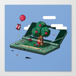 A relaxing little world Canvas Print
